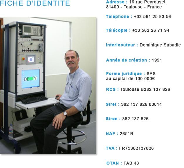 Dominique Sabadie, fondateur